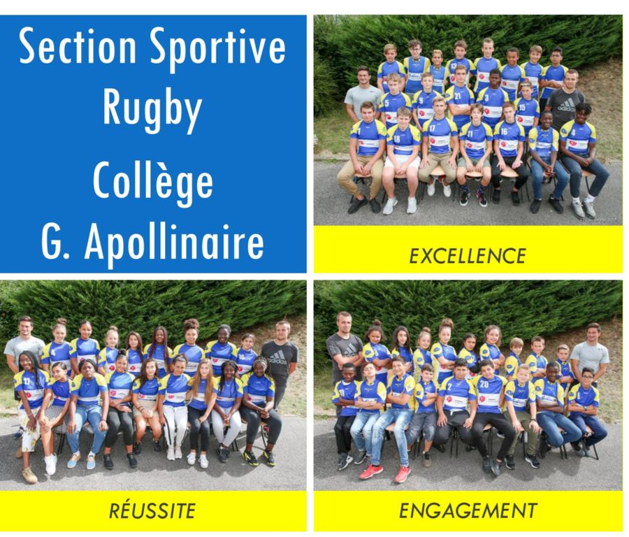 Brochure Section Sportive Rugby du Collège Guillaume Apollinaire
