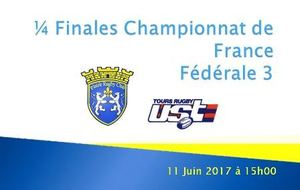 1/4 FINALES FEDERALES 3 - PLAISIR RUGBY CLUB - U S TOURS
